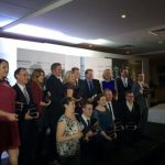 Group shot of award winners at the SouthWest Apprenticeship Awards