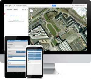 Image of icollect & Google maps for tracking
