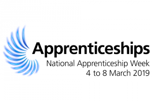 National Apprenticeship Week 2019 logo
